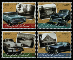 Norfolk-Insel 2008 - Mi-Nr. 1011-1014 ** - MNH - Autos / Cars - Norfolk Island