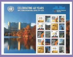 United Nations (Vienna )  2019. Celebrating 40years Vienna International Center  MNH** - Ungebraucht