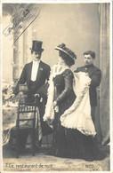 Le Restaurant De Nuit 1903 - Coppie