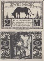 Paderborn Notgeld: 1043.4 2 Mk Eselgasse Notgeldschein Der Stadt Paderborn Bankfrisch 1921 2 Mark Paderborn - Austria