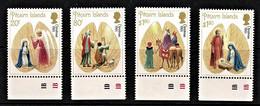 Pitcairn Islands 1991 Christmas Marginal Set Of 4 MNH - Pitcairneilanden