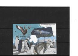 Bresil Faune De L'antarctique 1990 NSC - Otros