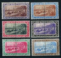 Sudán (Británico) Nº Telégrafos-10/12-14/16 ... - Sudan (...-1951)