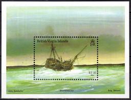 BRITISH VIRGIN ISLANDS 1987 SHIPS - Shipwrecks Souvenir Sheet MNH - Britse Maagdeneilanden
