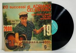 I100293 LP 33 Giri - 20 Successi Di Adriano Celentano - Stella Records Niagara - Altri - Musica Italiana