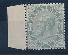BELGIUM COB 39 REGUMMED REGOMME - 1883 Leopold II
