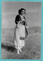 GRECIA GREEK CRETE ANOGEIA COSTUME DE PAYSANNE N°C193 - Grecia