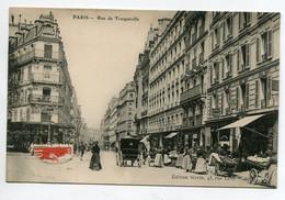 75 PARIS XVII Rue De Tocqueville Marché Dans La Rue Edit Sirvin - écrite D15 2020 - Arrondissement: 17
