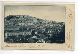 PORTUGAL LISBOA Panorama Da Cidrade 1902 écrite Timb   D17 2020 - Lisboa