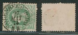 "émission 1869 - N°30 Obl Double Cercle (DCb) ""Molenbeek (Brux"" - 1869-1883 Leopoldo II"