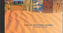 Nations Unies ONU Genève Carnet Complet Patrimoine Mondial  AUSTRALIE 1999 - Markenheftchen