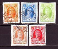 USSR 1927. Worker. Used. Mi Nr. 339, 341, 344-45, 350. - Usati