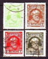 USSR 1927. Peasant. Used. Mi Nr. 340, 342-43, 349. - Usati