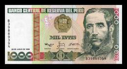 Perú 1000 Intis 1988 Pick 136c SC UNC - Peru