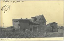 Cpa RIVE DE GIER 42 - 1906 - Ancien Château Du Sardon (RARE) - Rive De Gier