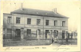 Cpa COYE 60 - Mairie (école) - Dubois-Vibert édit. Coye - Sonstige Gemeinden