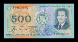 Perú 500 Soles De Oro 1982 Pick 125A SC UNC - Peru