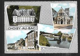 Cpsm 040029 Choisy Au Bac 4 Vues Situées Sur Carte - Sonstige Gemeinden
