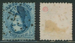 """Médaillon Dentelé - N°15 Obl Pt 73 (Lp 73) """"Cappellen"""" / Collection Spécialisée. - 1863-1864 Medaillen (13/16)"""