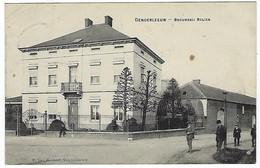 BELGIQUE - TRES TRES RARE - DENDERLEEUW - BROUWERIJ - BRASSERIE - ROLIER - MET VOLK - Vendu 1 Fois Sur DELECAMPE En 2013 - Denderleeuw