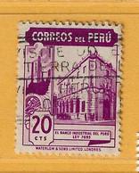 Timbre Perou N° 394 - Perú