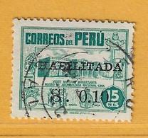 Timbre Perou N° 415 - Perú