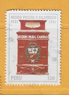 Timbre Perou N° 699 - Perú