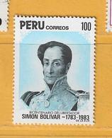 Timbre Perou N° 764 - Perú