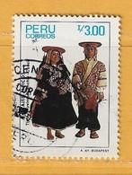 Timbre Perou N° 835 - Perú