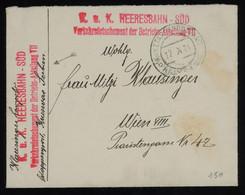TREASURE HUNT [02125] Austria 1916 Field Post Cover Sent To Vienna - Storia Postale