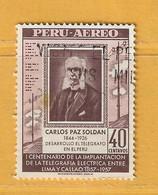 Timbre Perou Poste Aérienne N° PA 135 - Perú