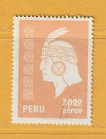 Timbre Perou Poste Aérienne N° PA 490 - Perú