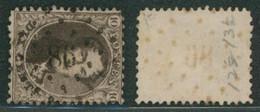 """Médaillon Dentelé - N°14 Obl Pt 86 (Lp 86) """"Contich"""" / Collection Spécialisée. - 1863-1864 Medaillen (13/16)"""