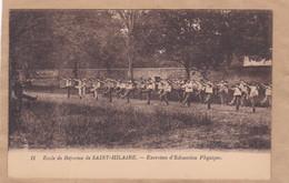 école De Réforme De Saint-Hilaire Exercices D'éducation Physique - Barracks