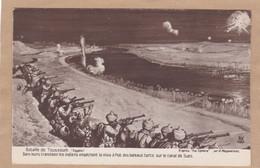 Bataille De Toussoum Egypte Dans Leurs Tranchées Les Indiens Empêchent La Mise à Flot Des Bateaux Turcs Canal De Suez - Oorlog 1914-18