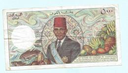 Billet COMORES 5000 Francs - Comoros
