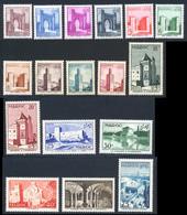Maroc 1955 Yvert 345 / 361 ** TB - Unused Stamps