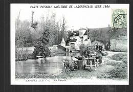 Cpm 040027 Laigneville Le Lavoir , Repro Cpa En Carte Com De Voeux Politique 1993 - Sonstige Gemeinden