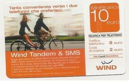 Ricarica WIND TANDEM & SMS, Taglio 10,00 Euro, Scadenza 30/06/2007, Usata - [2] Sim Cards, Prepaid & Refills