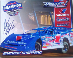 Brandon Sheppard ( American Race Car Driver) - Authographs