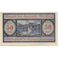 Billet, Autriche, Wendling, 50 Heller, Paysage 1920-12-15, SPL Mehl:FS 1170a - Austria