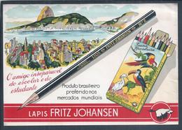 Lapis School Fritz Johansen. School Hours. Lapis école Fritz Johansen.les Heures D'école 1950. Rio De Janeiro. - Europa