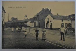 CPA Bury, Péruwelz - Arrêt Du Tram - Edit. J. Debliquy, Bury - Peruwelz