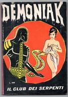 Demoniak (Cofedit 1965) N. 4 - Non Classificati