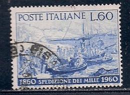 ITALIE    N°   811   OBLITERE - 1946-60: Used