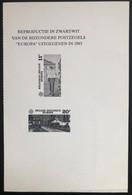 België, 1985, ZNP 17, OBP 12€ - Blocks & Kleinbögen Schwarz