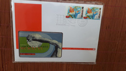 Olympic Games Phoneacrd New With Folder Rare - Sport