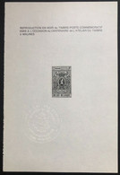 België, 1969, ZNP1 (FR), OBP 10€ - Blocks & Kleinbögen Schwarz