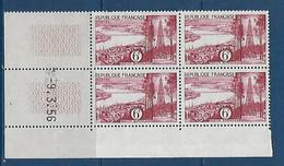 "FR Coins Datés YT 1036 "" Région Bordelaise. "" Neuf** Du 9.3.56 - 1950-1959"