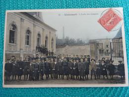 ANNEE 1906 - L'ECOLE DES GARCONS - LIANCOURT (OISE) - Sonstige Gemeinden